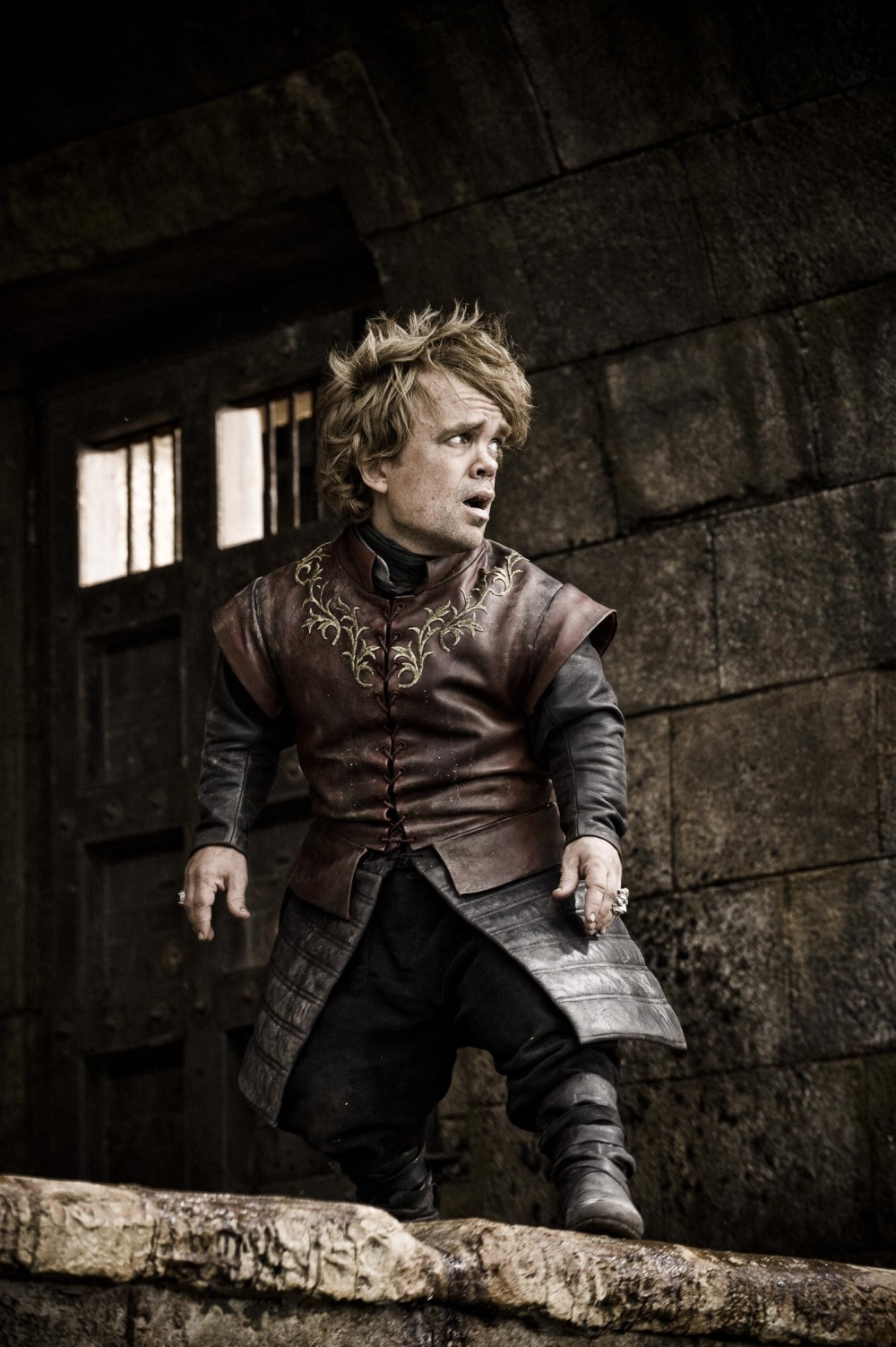 Peter Dinklage as Tyrion in the HBO adaptation.